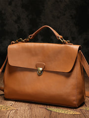 Brown Leather Satchel Purse Women's Satchel Handbags