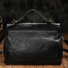 Black Leather Satchel Bag Black Satchel Bag Women's