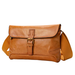 Leather Satchel Fanny Pack Side Bag