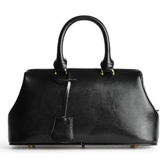 Female Black Structured Doctor Style Bag