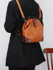 Women's Mini Leather 3IN1 Backpack Bags Purses