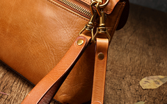 Small Leather Satchel Side Bag