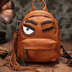 Vintage Leather Purse Cute Backpacks Shoulder Travel Bags