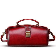 Doctor's Bag Style Handbags Leather Doctor Bag Purse