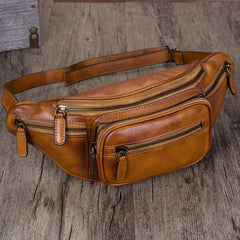 Leather Fanny Pack Hip Belt Bags Purses