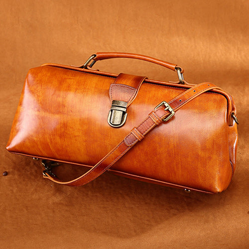 Female Doctor Bags Leather Doctors Bag Doctor Style Handbag
