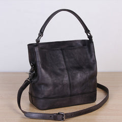 Womens Bucket Bag Distressed Leather Bucket Handbag Purse