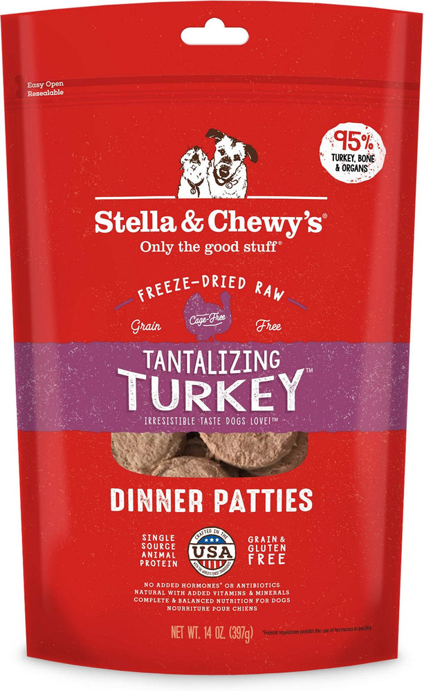 Freeze Dried Tantalizing Turkey Dinner 火雞誘惑(火雞肉配方)