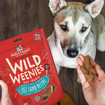 Lamb Wild Weenies Freeze-Dried Raw Dog Treats 凍乾香腸草飼羊肉小食 3.25-oz bag