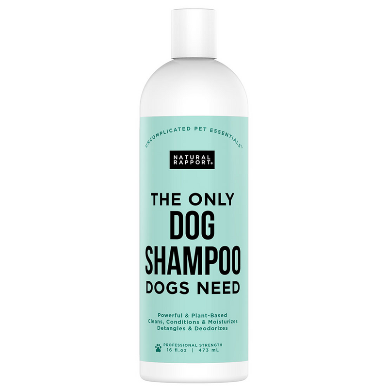 the only DOG SHAMPOO dogs need