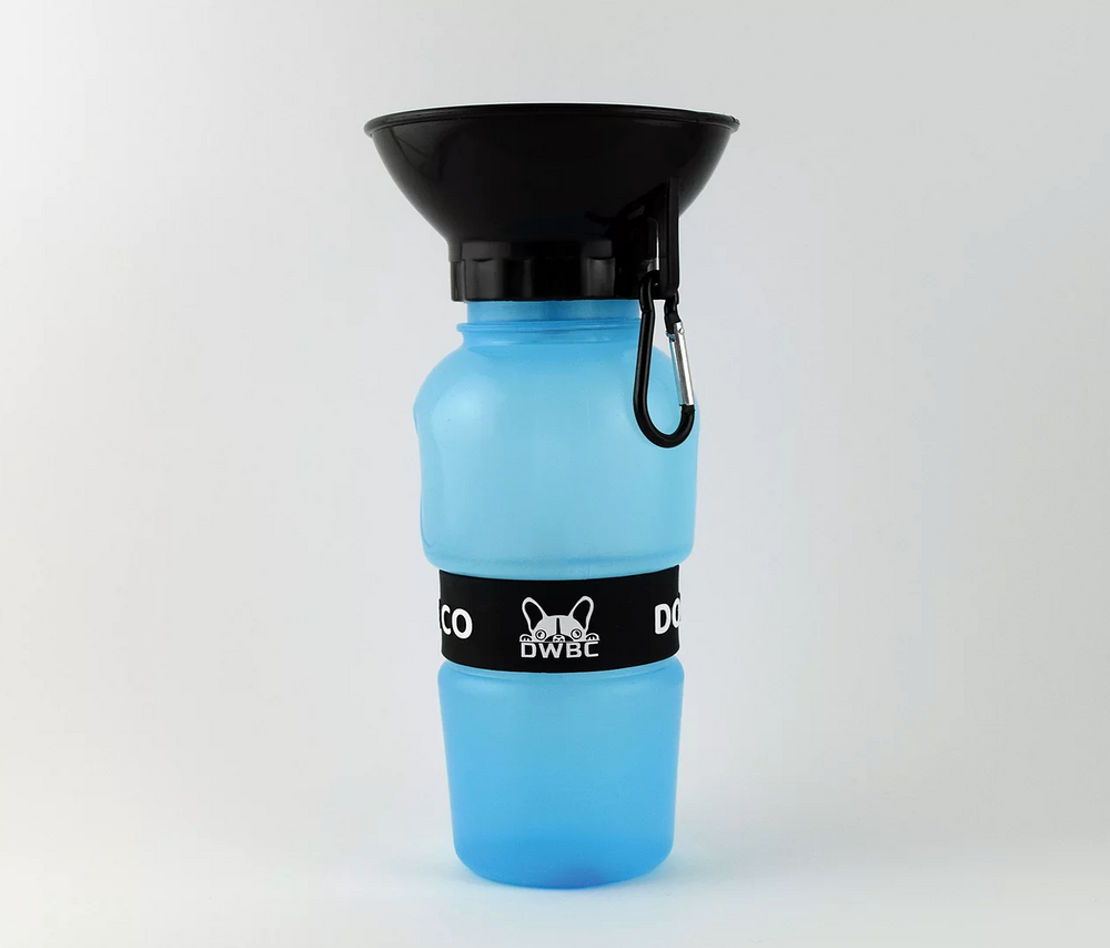 DOG WATER BOTTLE - Light Blue