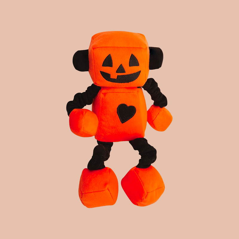 "Jack-O-Bot - 13"" Plush Toy"