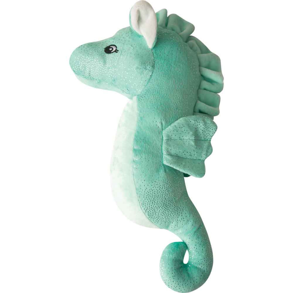 Sandy the Sea Horse - Teal - 17""