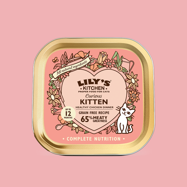 Curious Kitten Dinner Cat Wet Food 幼貓成長餐 貓主食罐85G