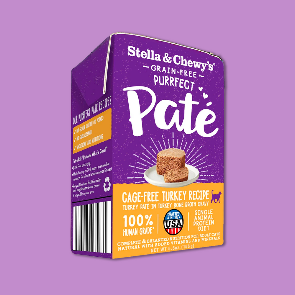 Stella & Chewy's Paté Cage-Free Turkey Wet Food 放養火雞滋味骨湯肉醬 5.5oz