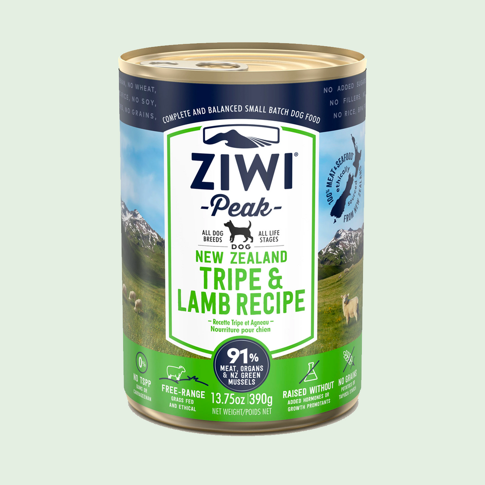 ZIWI Tripe & Lamb For Dogs Wet Dog Food 羊肉+草胃狗濕糧 390g