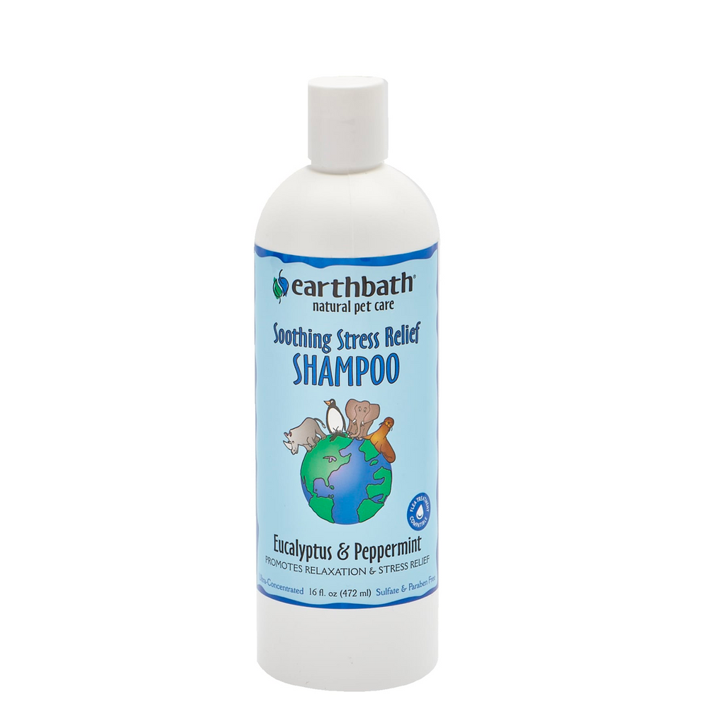 Soothing Stress Relief Shampoo, Eucalyptus & Peppermint 16oz