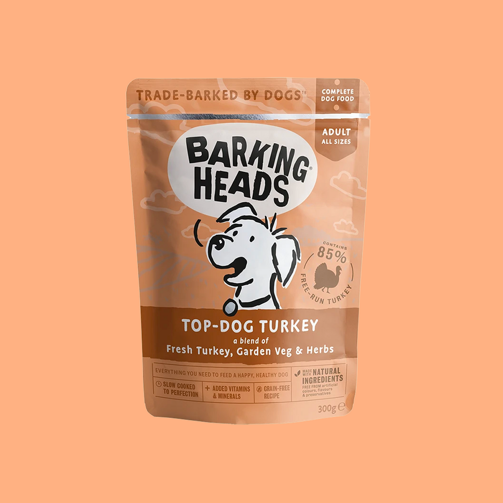 TOP-DOG TURKEY WET DOG FOOD 火雞濕狗糧