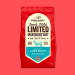 Limited Ingredient Diet Grass-Fed Lamb Recipe Dry Dog Food 單一動物蛋白配方羊肉狗糧 3.5lbs