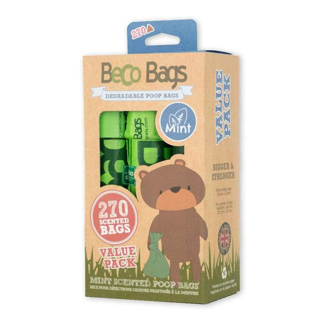 MINT SCENTED DEGRADABLE POOP BAGS 薄荷味環保執屎袋 (270 Bags)