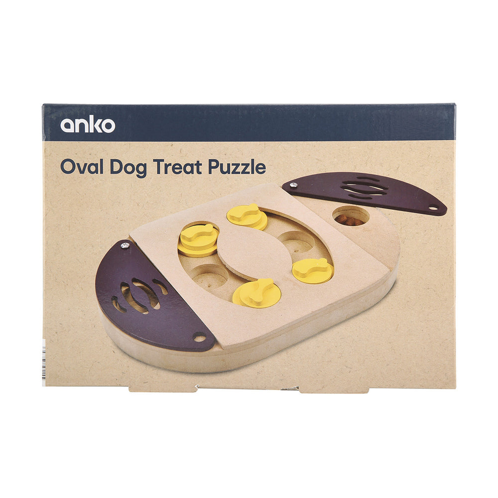 Oval Dog Treat Puzzle
