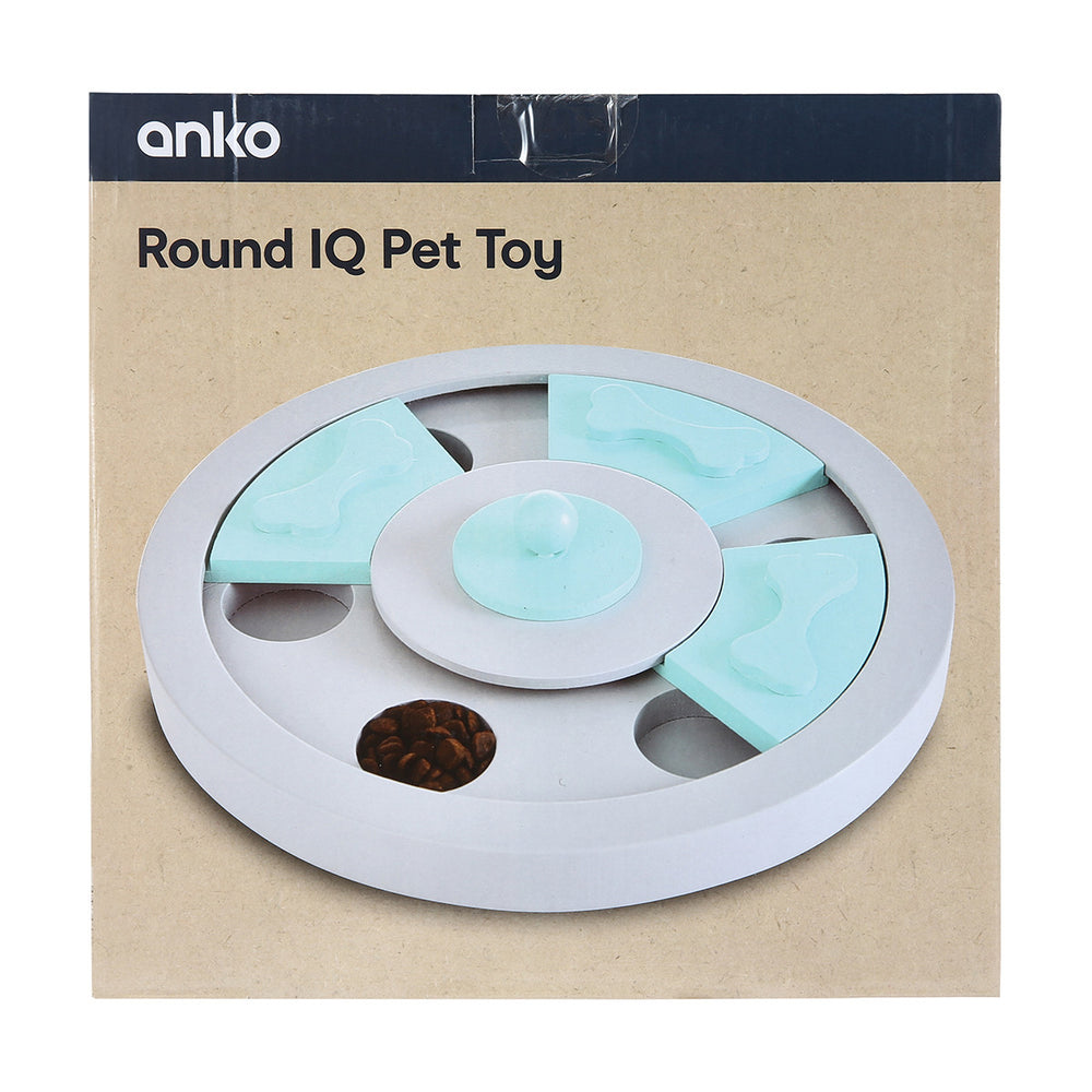 Round IQ Pet Toy