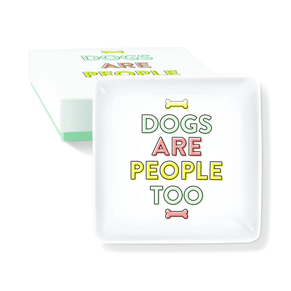 GRAPHIC PEOPLE TOO SQUARE CERAMIC TRAY