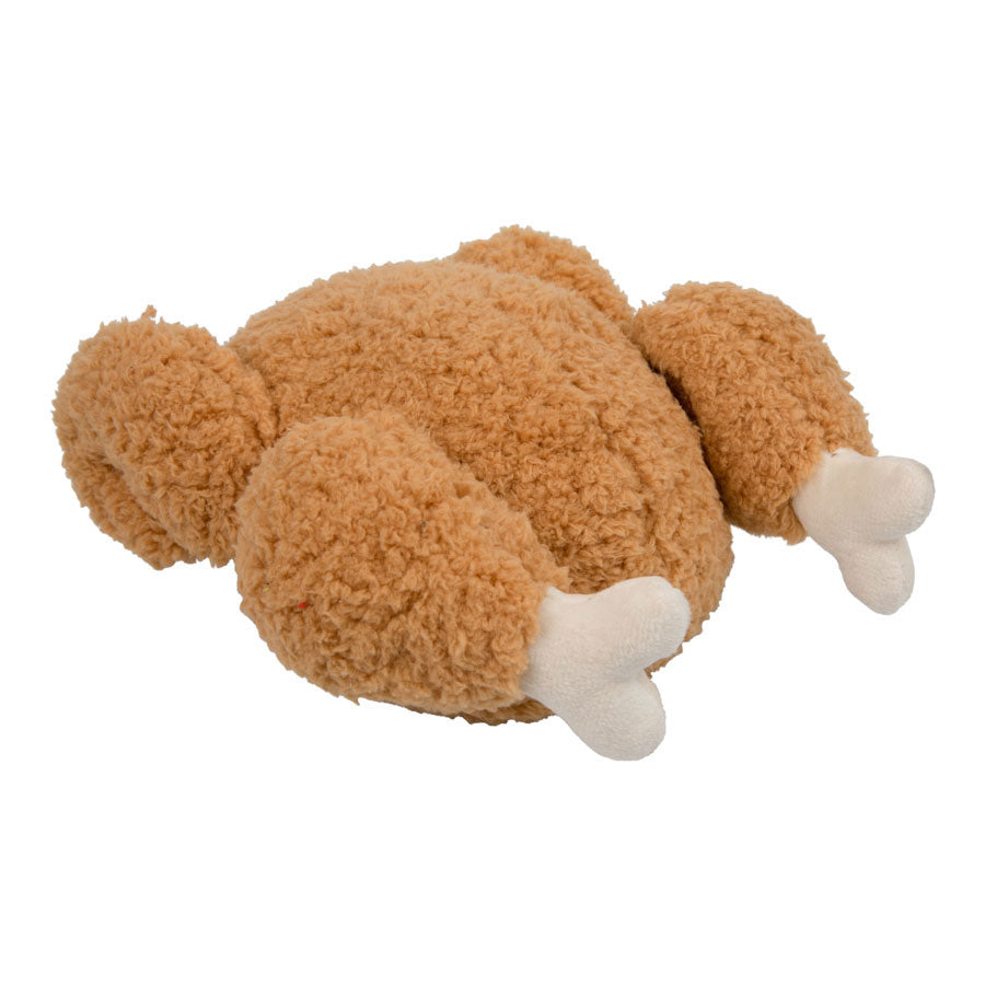 Turkey with Tear Off Legs Interactive Squeaky Dog Toy