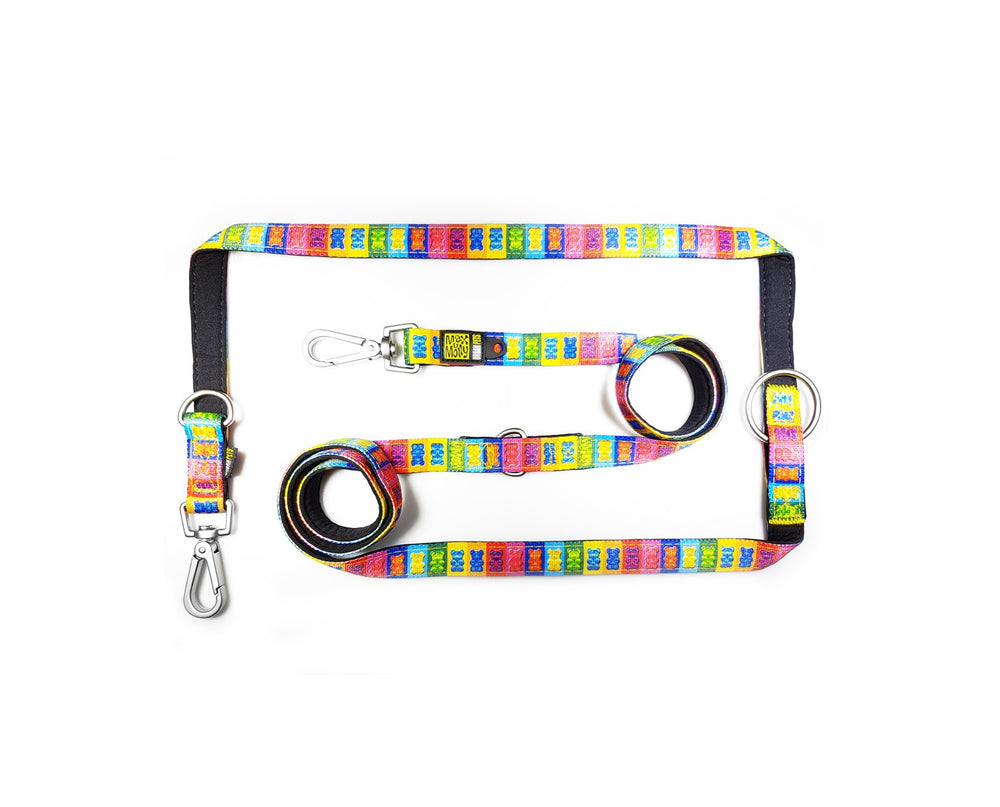 Rainbow Bear Multi Function Leash 多功能拖帶