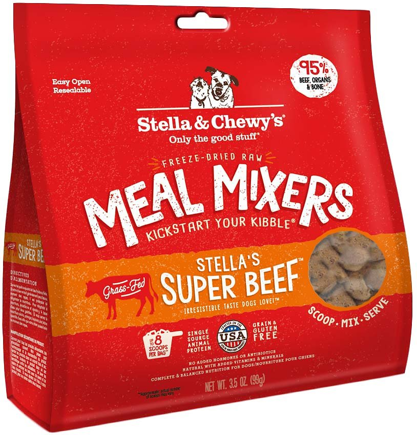 Stella's Super Beef Meal Mixers 牛魔王 乾糧伴侶 (牛肉配方)