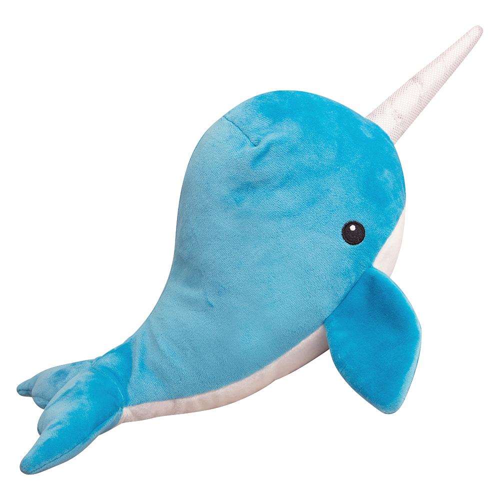 "Nikki the Narwhal - 17"" Plush Toy"