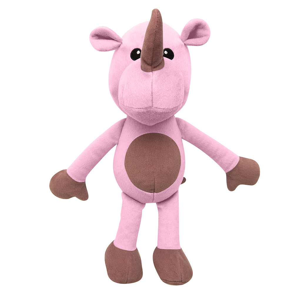 "Robbie the Rhino - 14"" Plush Toy"