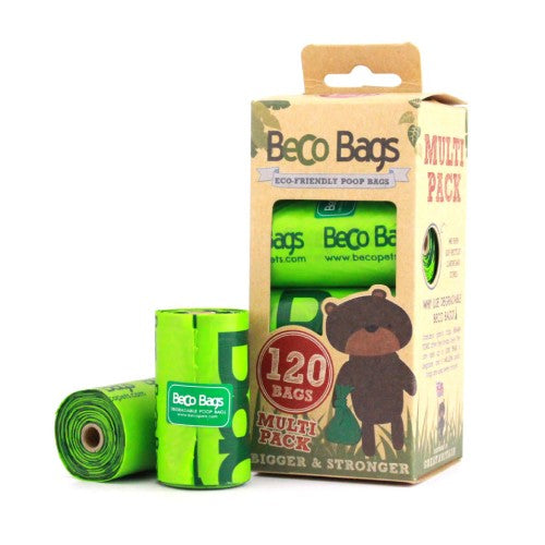UNSCENTED DEGRADABLE POOP BAGS 原味環保執屎袋(120 Bags)
