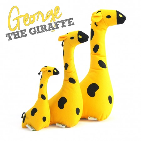 George The Giraffe Dog Sofy Toy