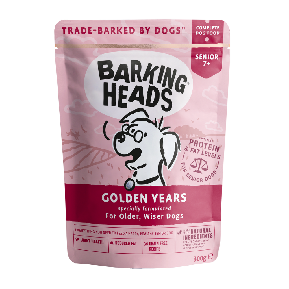 GOLDEN YEARS - WET FOOD FOR SENIOR DOGS 老犬濕糧