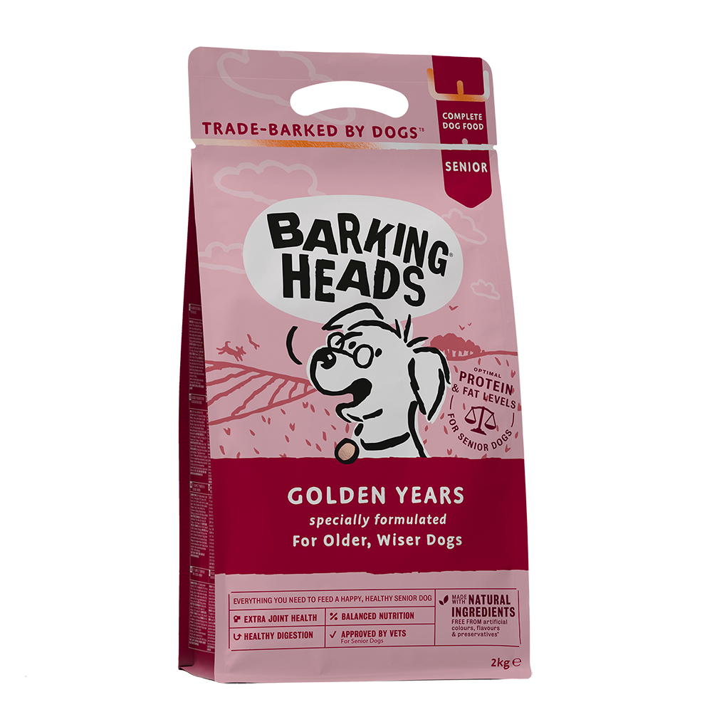 GOLDEN YEARS - DRY FOOD FOR SENIOR DOGS 2KG