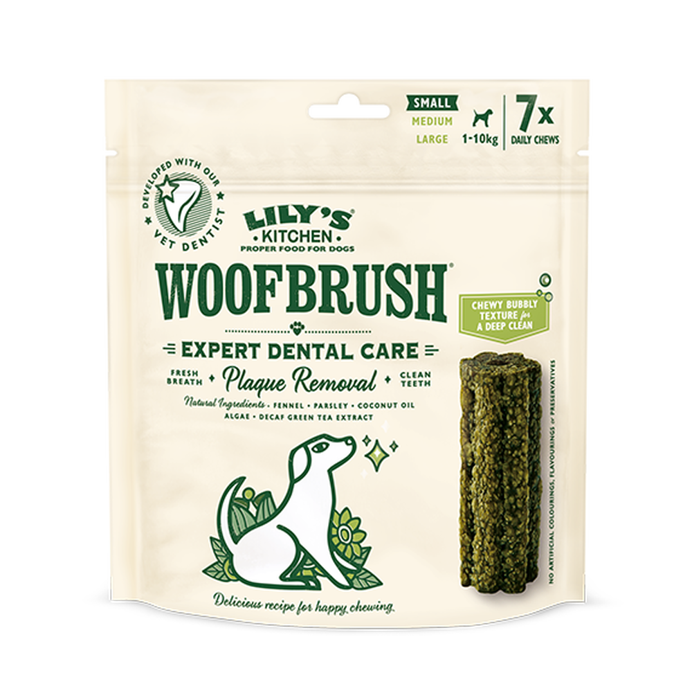 Woofbrush Natural Dental Dog Chews 潔牙棒