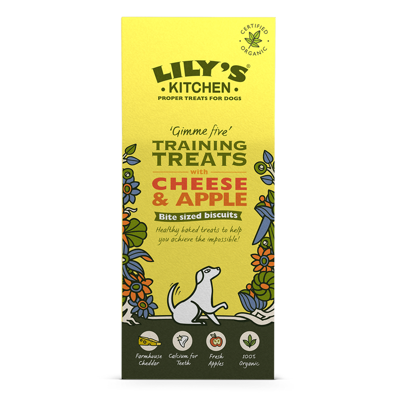 Lily's Kitchen Organic Cheese and Apple Training Treats 100g
