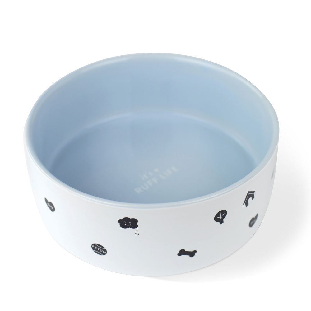 RUFF LIFE PET BOWL - MEDIUM