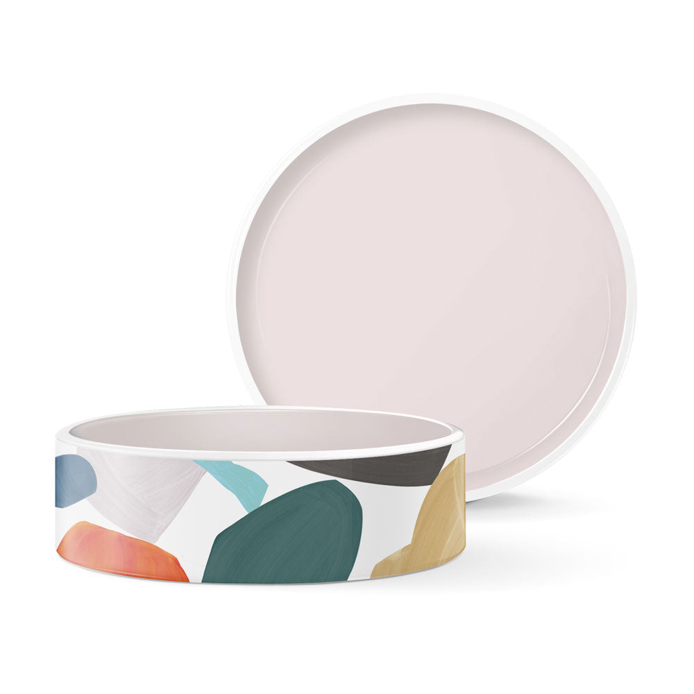 CANV SHAPE MEDIUM CERAMIC BOWL