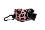 PINK LEOPARD - POOP BAG HOLDER