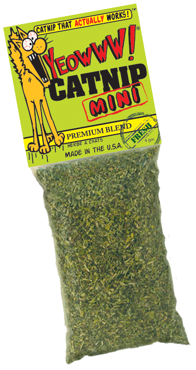 Yeowww! Organic Mini Catnip, 0.14-oz bag 貓草
