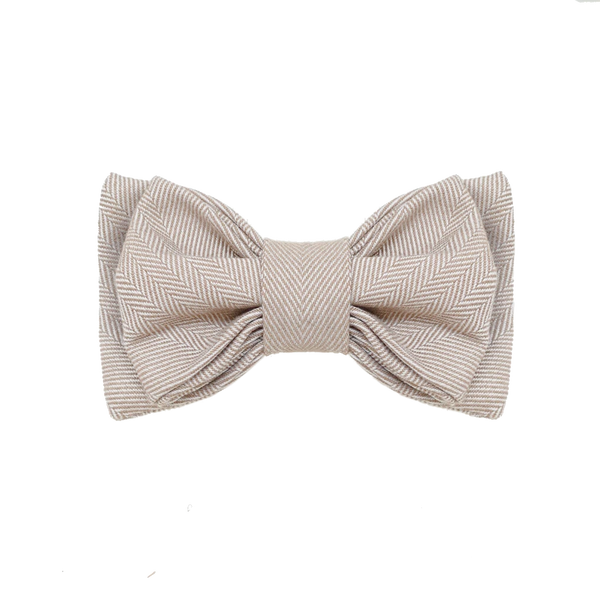 OSAKA // double layer bow tie