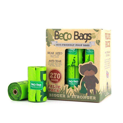 UNSCENTED DEGRADABLE POOP BAGS 原味環保執屎袋 (270 Bags)