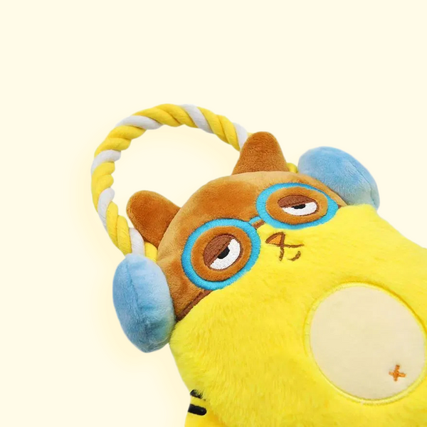 Cat - Melody Bros Rope Funz Toy