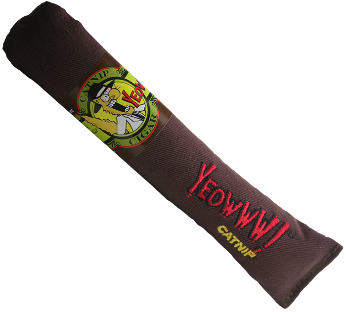 YEOWWW! CATNIP BROWN CIGARS CAT TOY 貓草玩具