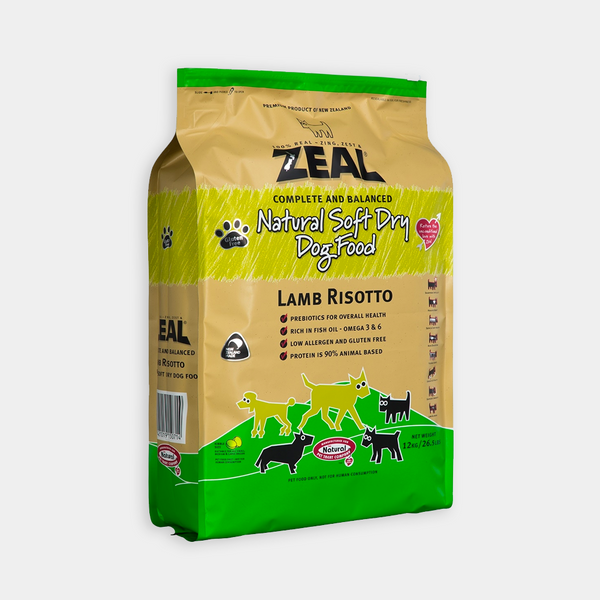 Zeal – Lamb Risotto Dry Dog Food 紐西蘭羊肉配方狗糧 3kg