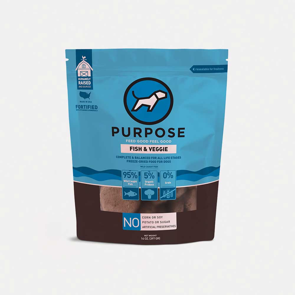 Fish & Veggie Freeze - Dried Dog Food