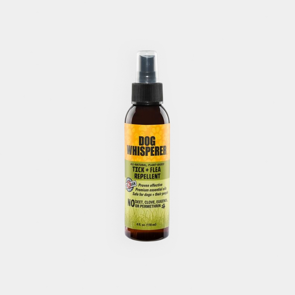 Dog Whisperer TICK + FLEA repellent 全天然防蜱蚤噴霧 4 oz