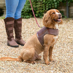 Grape Check Tweed Soft Harness